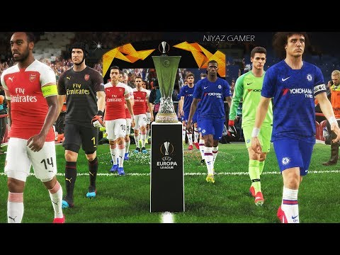 CHELSEA vs ARSENAL | Final UEFA Europa League - UEL | Penalty Shootout | PES 2019
