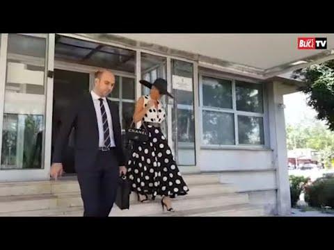 Karleuša u tufnastoj haljini stigla u sud, Ražnatovićeva se nije pojavila