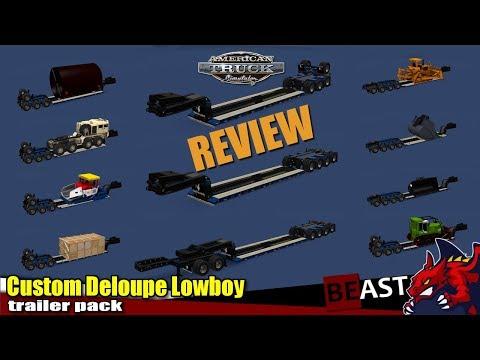 Trailer Custom Deloupe Lowboy 1.30