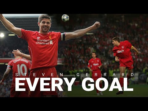 Every Steven Gerrard Goal for Liverpool | Cup Final screamers, Istanbul and more