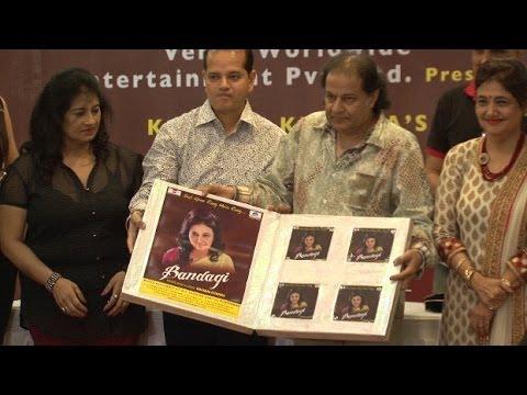 Anup Jalota, Kashmira Shah, Ragini Khanna Launched An Album Bandagi