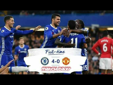 Chelsea vs Manchester United 4-0 | All Goals & Extended Highlights | Premier League | 23.10.2016 HD]