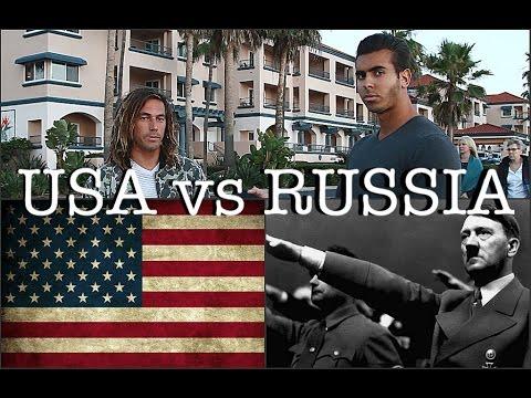 Часть 2: Американцы о России и Гитлере   USA vs RUSSIA (видео)