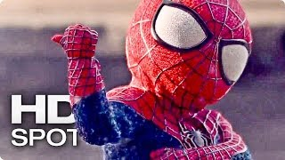 The Amazing Spider-Man Baby Dance - Official Evian Spot (2014)