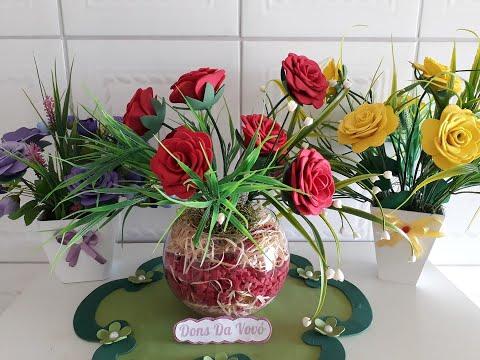 come realizzare delle bellissime rose in foamy