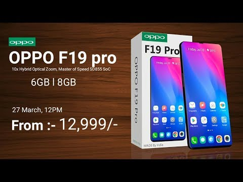 Oppo F19 pro - 52 MP Camera, 5G, Android 9.0 Pie, Price And Specs