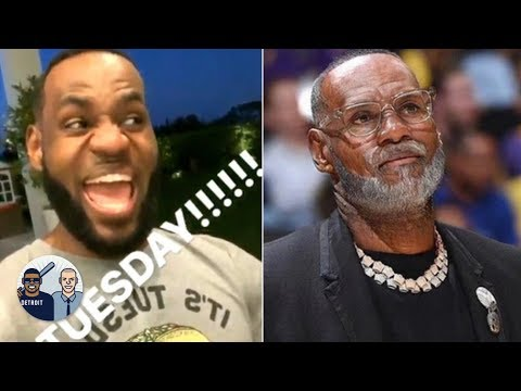 Video: AD joins LeBron for Taco Tuesday, NBA players test out old age filter | Jalen & Jacoby