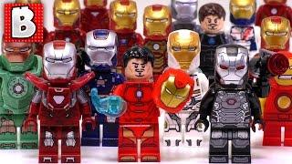 The original Iron Man collection video is here: https://www.youtube.com/watch?v=A1cy8IuRNVISubscribe for more Lego set unboxing! ► https://www.youtube.com/channel/UCrhb3SP2lZBgguLHIWWuHOQ?sub_confirmation=1Instagram https://www.instagram.com/brick.vault/Twitter https://twitter.com/LegoBrickVaultFacebook https://www.facebook.com/BrickVaultMore Lego Videos!Lego Custom Builds MOC: https://www.youtube.com/playlist?list=PLHttrZC-uXId_7-1AhYBkkNui7p121ph1Lego How To: https://www.youtube.com/playlist?list=PLHttrZC-uXIe6rGzvUYHNv8kYo6djHtZSLego Holiday Sets:https://www.youtube.com/playlist?list=PLHttrZC-uXId4mSi7xwisu0Ab9ZLgwB5zLego Minecraft Sets: https://www.youtube.com/playlist?list=PLHttrZC-uXIcyrM1-uXK7EKW46bnGlY3RLego Dimensions: https://www.youtube.com/playlist?list=PLHttrZC-uXIcGiZC7Mja3PWnncfmIl4FULego Star Wars Sets: https://www.youtube.com/playlist?list=PLHttrZC-uXIfkmR_Aph5SOnXaz2TLnthzLego Batman Sets: https://www.youtube.com/playlist?list=PLHttrZC-uXIdJD40n6C3BWenlAhP-hukPLego Technic Sets: https://www.youtube.com/playlist?list=PLHttrZC-uXIepOnSR4riPdGy_evNVhYj5Lego Ninjago Sets: https://www.youtube.com/playlist?list=PLHttrZC-uXIcwSoQ0W7194uRIuVdYB14OLego Minifigs: https://www.youtube.com/playlist?list=PLHttrZC-uXIdqvpka7BlmdRdzcLpbspY7Lego DC Universe Sets: https://www.youtube.com/playlist?list=PLHttrZC-uXIfanWDciAjDOl9wex7rh6zDLego Marvel Universe Sets: https://www.youtube.com/playlist?list=PLHttrZC-uXIf2bgteZgl_9tR4knR7EYQDLego Bionicle Sets: https://www.youtube.com/playlist?list=PLHttrZC-uXIeRE-wuKK33PDX8Sf3NcuCyLego Scooby-Doo Sets: https://www.youtube.com/playlist?list=PLHttrZC-uXIcFlEBwDpPJjl_vZ7dMgrOhLego Creator Sets: https://www.youtube.com/playlist?list=PLHttrZC-uXIfOfSw0zUae8VPKQbPlt4aqLego Ideas Sets: https://www.youtube.com/playlist?list=PLHttrZC-uXIfLKJkj2jgdNasuqOYdgtzULego City Sets: https://www.youtube.com/playlist?list=PLHttrZC-uXIcfDtluUWXBS6K9wNf6HRx7Lego Jurassic World Sets: https://www.youtube.com/playlist?list=PLHttrZC-uXIeqpqR6kpdOn-xL
