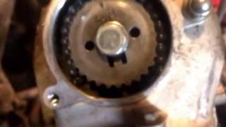 8. How to Adjust valves on a 1987 Yamaha 80cc YFM80 Badger Moto 4.