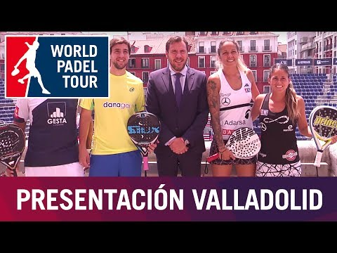 Presentación Valladolid Open 2017   World Padel Tour