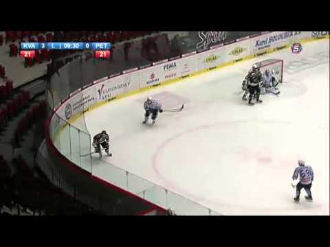 MHL: HC Energie - Dinamo Petrohrad, 1. třetina