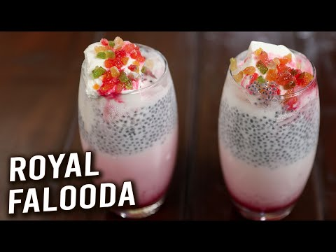 Royal Falooda | How To Make Falooda Sev | Summer Dessert Recipe | Homemade Falooda | Varun