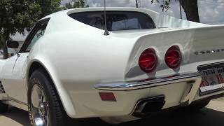 Quick Road Test & Tour of a 1971 Chevy Corvette 454 Stingray with Samspace81. I visited my friends at Garrett Classics to film their newly arrived 1971 Chevrolet Corvette. This LS5 powered Corvette features its number's matching engine along with deluxe interior. Enjoy the ride. Facebook - https://www.facebook.com/samspace81/