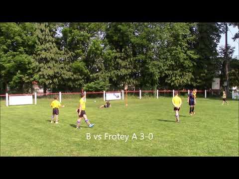 Plateau U9 à Scey le 19 mai 2018 : Florilège buts Groupement La Saône