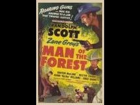 EL HOMBRE DEL BOSQUE (Man Of The Forest, 1933, Full Movie, Spanish, Cinetel)