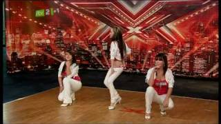 The X Factor  shocking scene