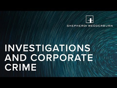 Investigations and Corporate Crime - Private Prosecutions
