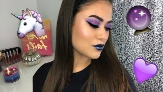 Please Like & Click To Subscribe ⇢ http://bit.ly/kendallalfred Iridescent & Purple Glitter Makeup Look Hi dolls! Last week I played around with my makeup c...
