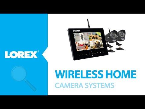 Wireless home camera systems - Lorex LW2732 LW2932
