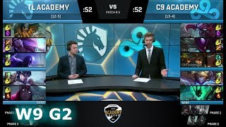 Video Team Liquid Academy vs Cloud 9 Academy | Week 9 of S8 NA Academy League Spring 2018 | TLA vs C9A MP3, 3GP, MP4, WEBM, AVI, FLV Juli 2018