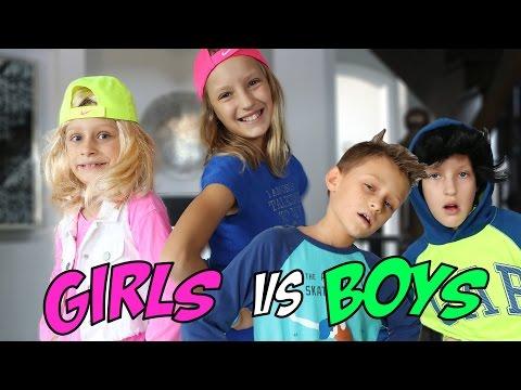 Play-date GIRLS vs BOYS