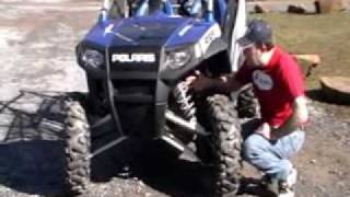 9. 2010 Polaris RZR4 Side-x-Side video review