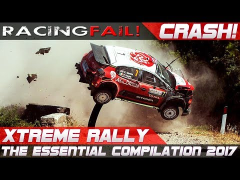 BEST OF EXTREME RALLY CRASH 2017!