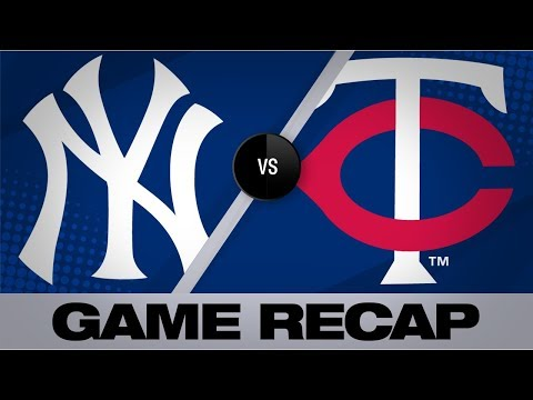 Video: Yankees slug 3 homers in 10-7 win | Yankees-Twins Game Highlights 7/24/19