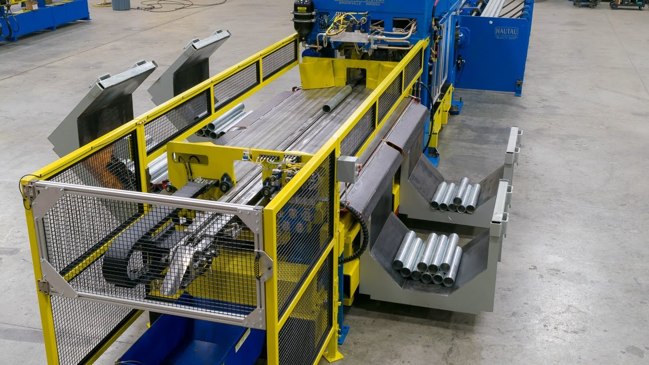 RC60 Automatic Tube Cutting and Unloading