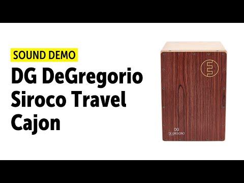 DG De Gregorio Siroco Travel Cajon - Setup & Sound Demo