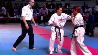 Download Lagu Sydorenko Iana (Ukraine) vs Wajgelt Iga (Poland) (-65) KWU Kyokushin World Championship-2015 Mp3