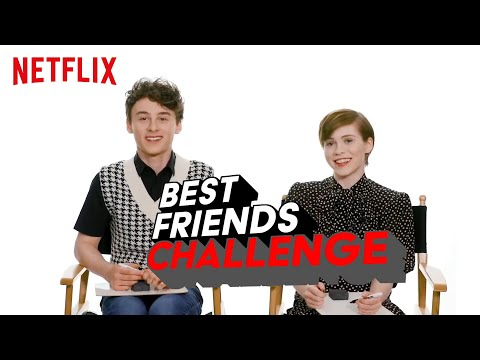 Wyatt Oleff und Sophia Lillis BFF Test | I Am Not Okay With This | Netflix