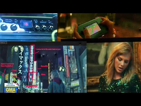 9 Hidden Messages You Missed in End Game..Music Video Of Taylor Swift