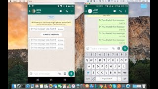 Video HOW TO READ OR SEE WhatsApp Messages DELETED by Sender MP3, 3GP, MP4, WEBM, AVI, FLV Juni 2019