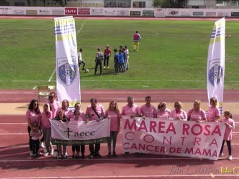 """Entrega Placa de reconocimiento del Isla Cristina FC, a la """"AECC"""" en nuestra localidad"""