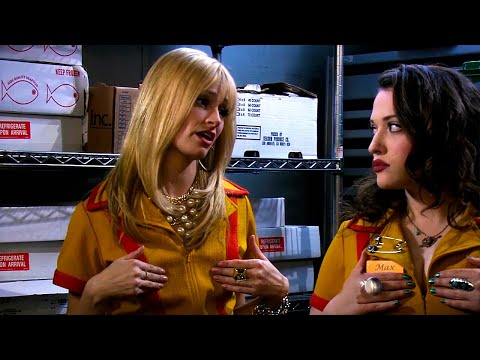 Caroline Hides From Her Ex-Boyfriend - 2 Broke Girls 1х05