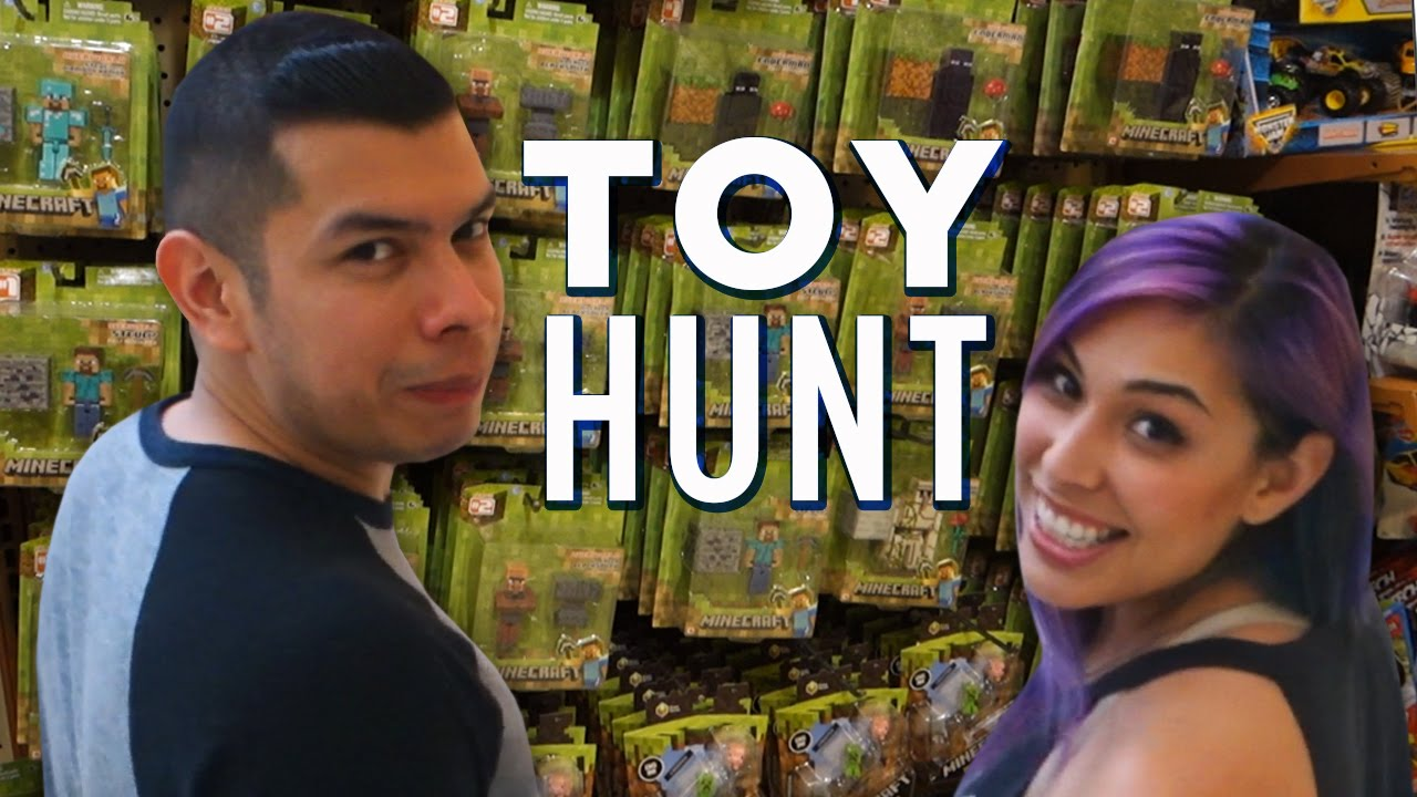 TOY HUNT! MLP, Minecraft & MOAR!