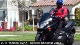 1. MotoUSA Scooter Shootout: 2011 Yamaha TMAX