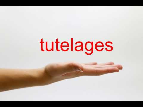 How to Pronounce tutelages - American English