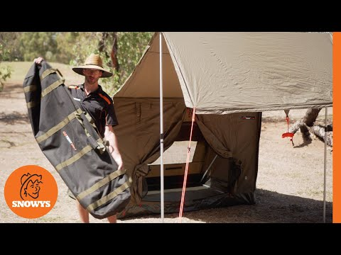 Oztent RV1 Canvas Touring Tent