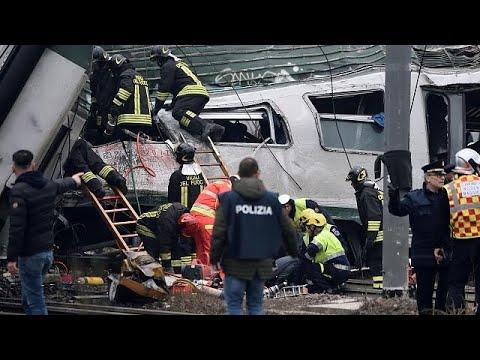 Ιταλία: Τέσσερις νεκροί από εκτροχιασμό τρένου κοντά στο Μιλάνο