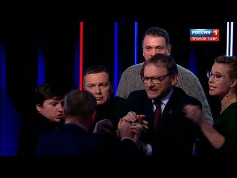 Фрагмент последних дебатов 2018 на России 1 с Соловьёвым (15.03.2018, 23:15)