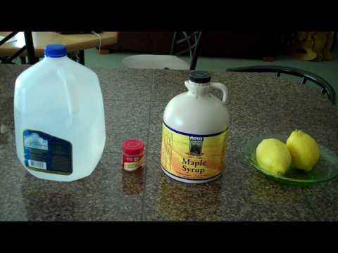 Essential Ingredients For The Lemonade Diet Recipe.MP4