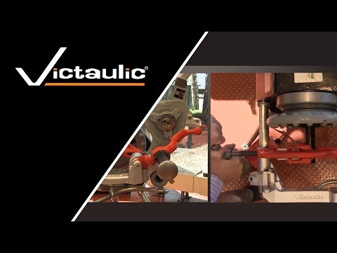 Victaulic RG2100 Roll Grooving Tool Demonstration Reference