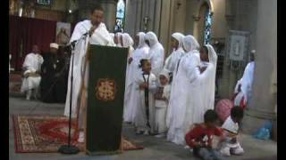 Ethiopian Orthodox Tewahedo Church Spiritual Song In Leeds Medh4