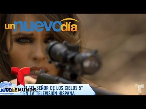 Notícias dos famosos - Así vive Vanessa Villela el éxito del Señor de los Cielos  Un Nuevo Día  Telemundo