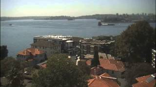 Sydney Webcam Time Lapse for Fri, 18th January 2013
