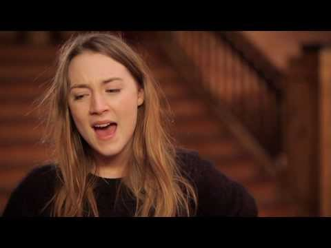 "The Grand Budapest Hotel: Saoirse Ronan ""Agatha"" On Set Movie Interview"