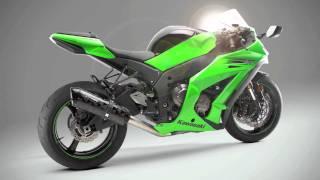10. 2011 Two Brothers Racing Kawasaki ZX10R Slip-on Dyno