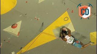 Two Handed Dyno's At The Briançon World Cup | Climbing Daily Ep.979 by EpicTV Climbing Daily